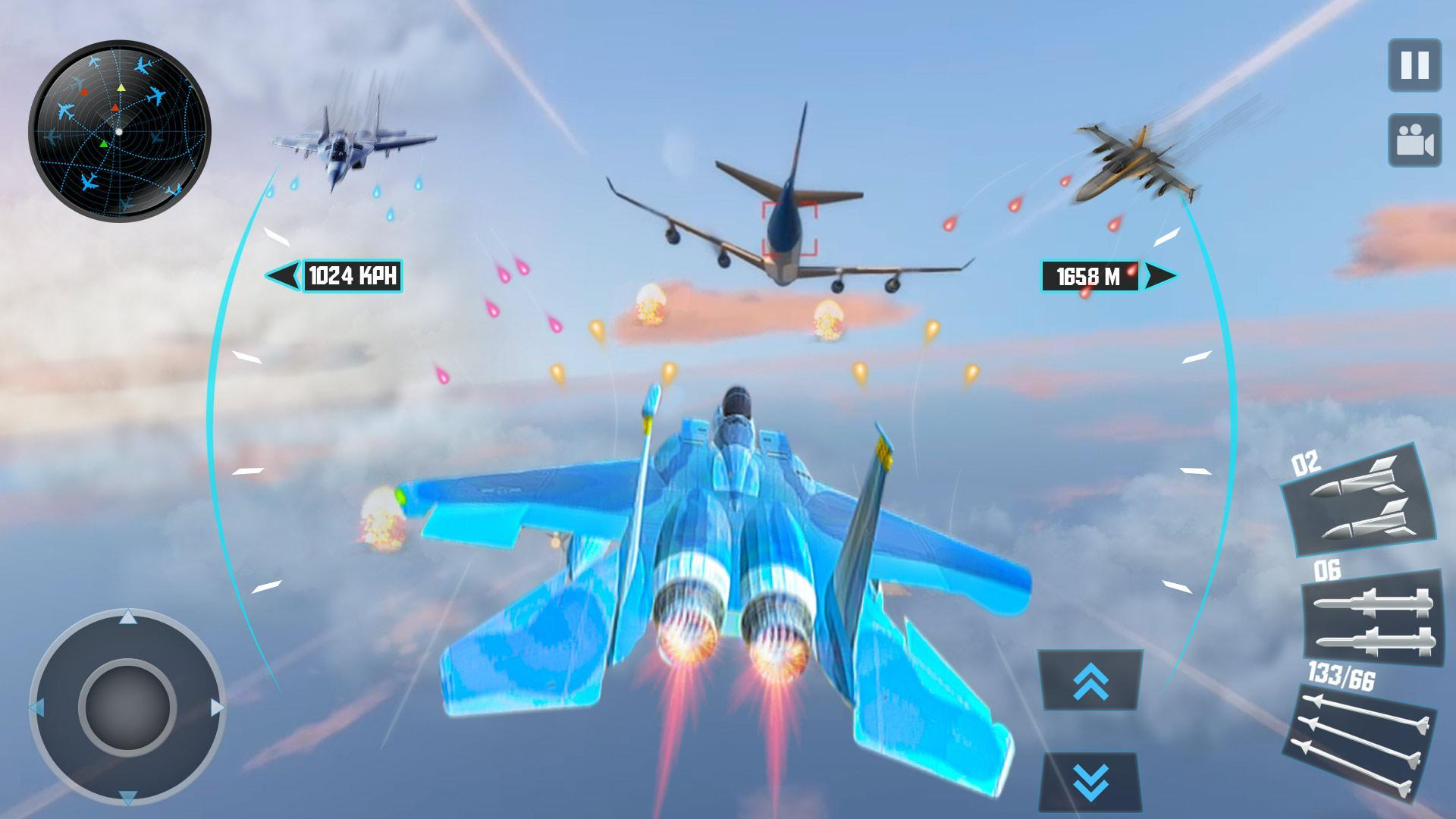 Jet Fighter Plane 3D – Air Sky Fighter Sim 2017 for Android