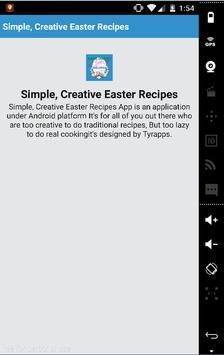 Simple,Creative Easter Recipes apk screenshot