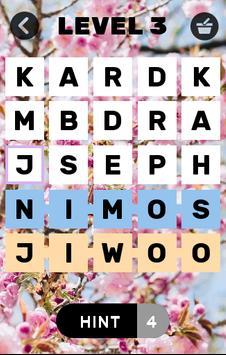Find Kpop idols names screenshot 2