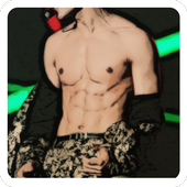 Guess Kpop idol abs icon