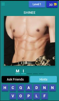 Guess Kpop idol abs poster