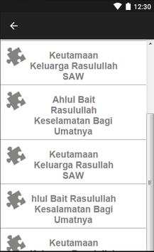 Kumpulan Ahlul Bait Nabi SAW apk screenshot
