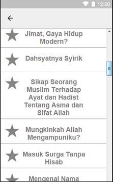 Kumpulan Aqidah Islami apk screenshot