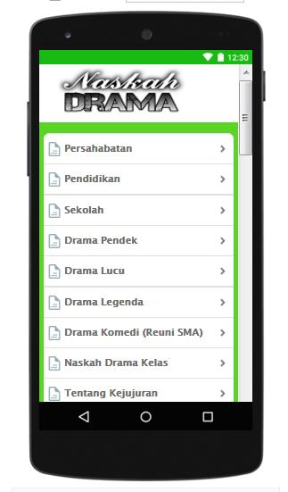 Naskah Drama Terpopuler for Android - APK Download