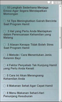 Tips Untuk Ibu Hamil Sehat apk screenshot