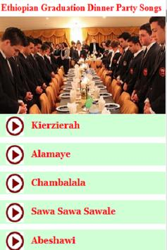 Ethiopian Graduation Dinner Party Songs poster