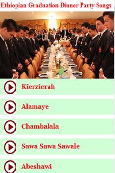 Ethiopian Graduation Dinner Party Songs screenshot 2