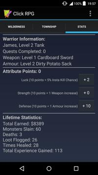 Click RPG apk screenshot