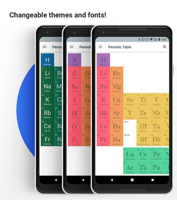 Periodic table 2018 apk download free education app for android periodic table 2018 apk screenshot urtaz Image collections