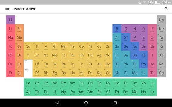 Virtual periodic table 2018 apk download free productivity app virtual periodic table 2018 apk screenshot urtaz Images