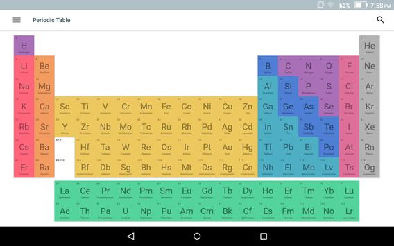virtual periodic table 2018 apk screenshot - Periodic Table Pro Apk Free