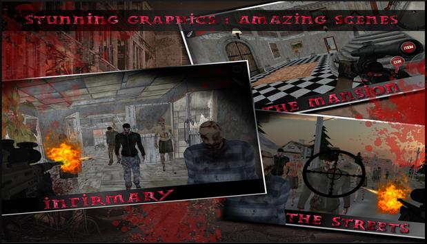 Zombie Shooting Game: Dead Frontier Shooter FPS screenshot 6