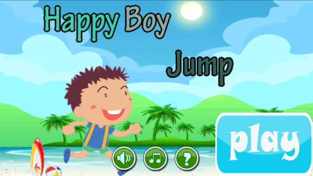 Happy Boy Jump poster