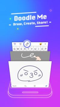 Typany Keyboard – Themes&GIF, Emoji Maker, Doodle apk screenshot