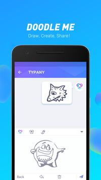 Typany Keyboard - Themes & GIF, DIY, Emoji Maker apk स्क्रीनशॉट
