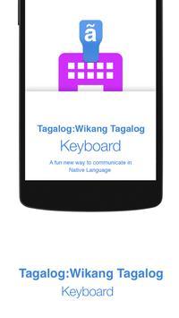 Tagalog Keyboard poster