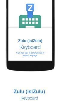 Zulu Keyboard poster