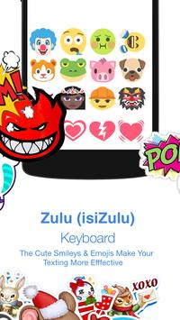 Zulu Keyboard screenshot 2