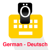 German Keyboard icon