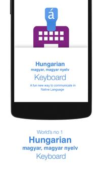 Hungarian Keyboard poster