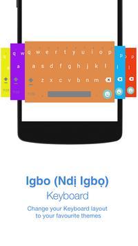 Igbo Keyboard poster
