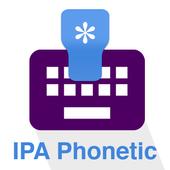 IPA Phonetic icon
