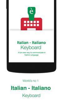 Italian Keyboard poster