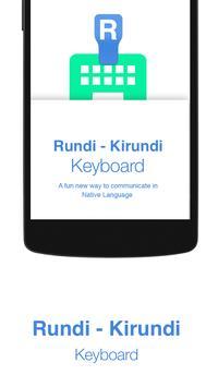 Kirundi Keyboard poster
