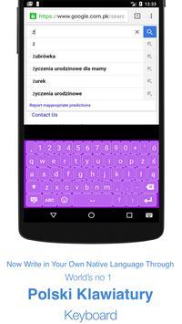 Polish Keyboard screenshot 1