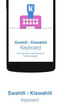 Swahili Keyboard poster