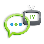 type2tv+ Android TV Chat icon