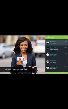 type2tv+ Android TV Chat screenshot 1