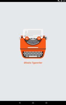 Oliveira Typewriter screenshot 6