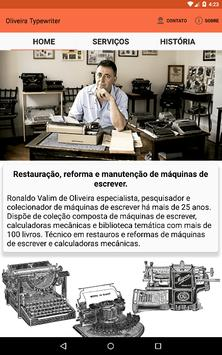 Oliveira Typewriter screenshot 7