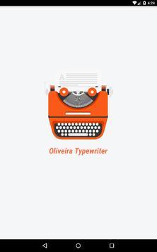 Oliveira Typewriter screenshot 8