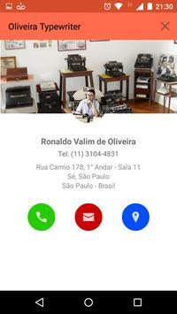Oliveira Typewriter screenshot 1
