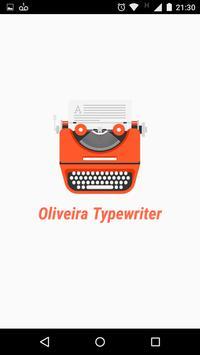 Oliveira Typewriter screenshot 3