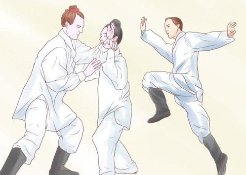 types of martial arts poster