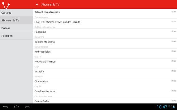 Colombian Television Guide screenshot 11