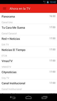 Colombian Television Guide screenshot 3