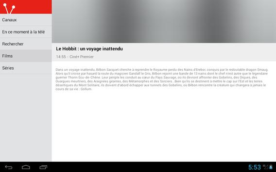 French Television Guide Free screenshot 10