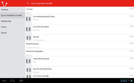 French Television Guide Free screenshot 11