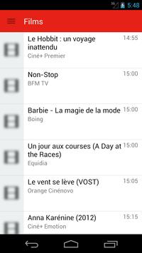 French Television Guide Free screenshot 1