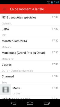 French Television Guide Free screenshot 3