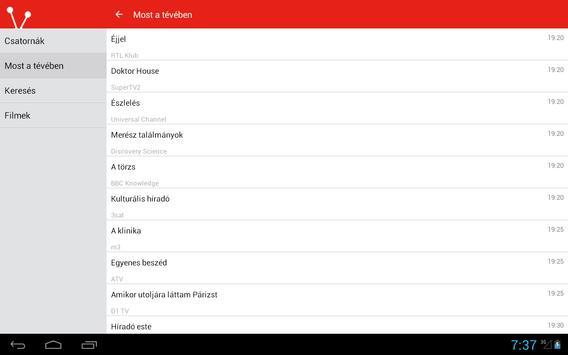 Magyar Televízióadás Guide apk screenshot