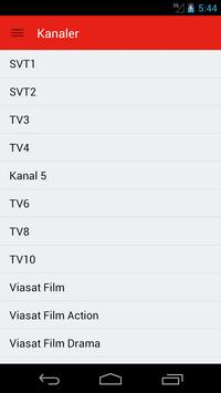 Swedish Television Guide Free poster