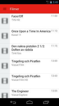 Swedish Television Guide Free screenshot 1