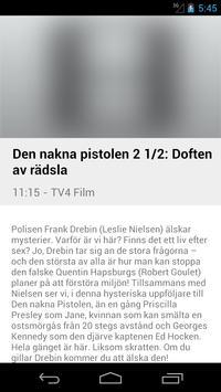 Swedish Television Guide Free screenshot 2