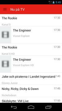 Swedish Television Guide Free screenshot 3