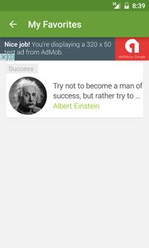 QuotesList apk screenshot